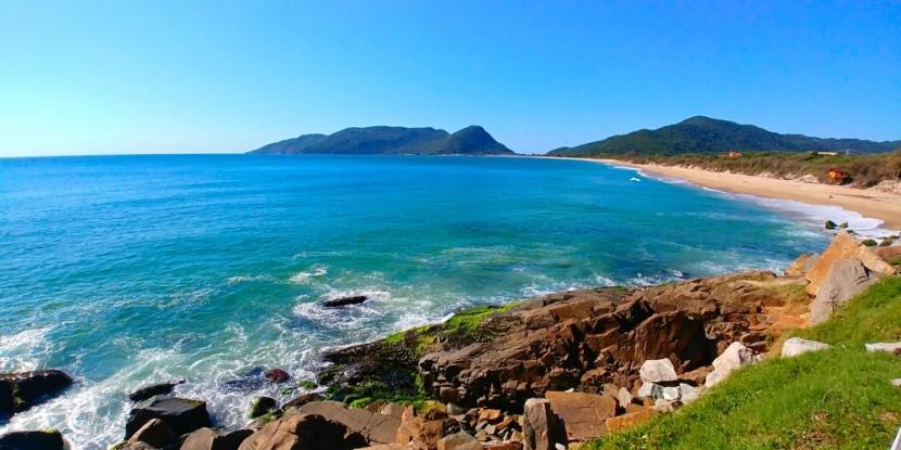 Pláž Joaquina, Florianópolis, Brazília