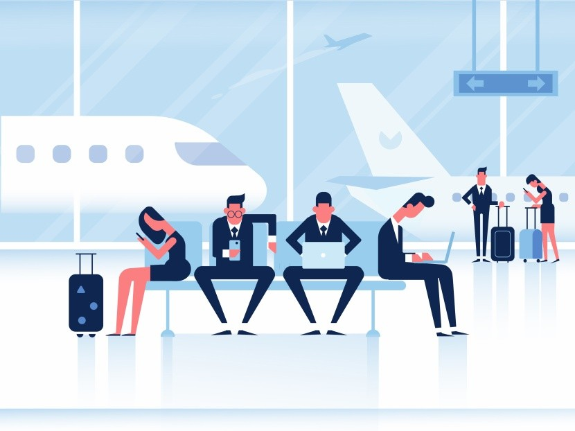 Elegendő munkazóna a reptéren