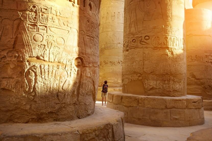 Karnaki templom Luxorban