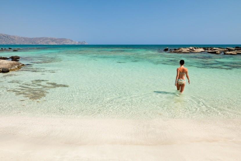Elafonissi Beach, Kréta