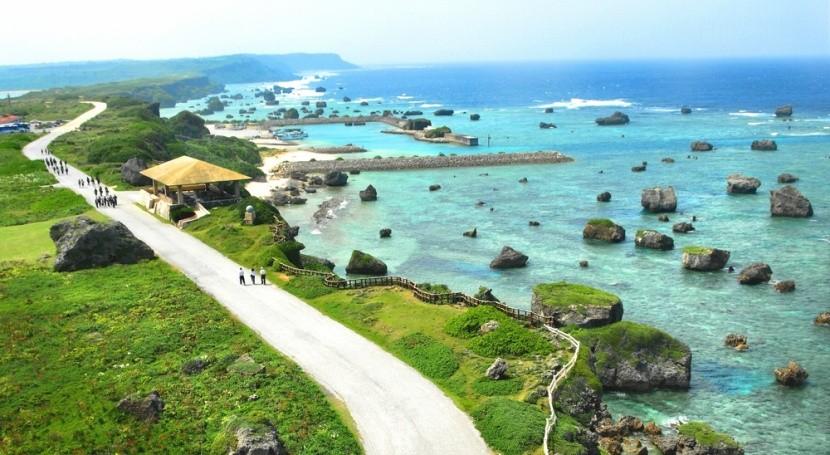 Harmónia japonského ostrova Okinawa