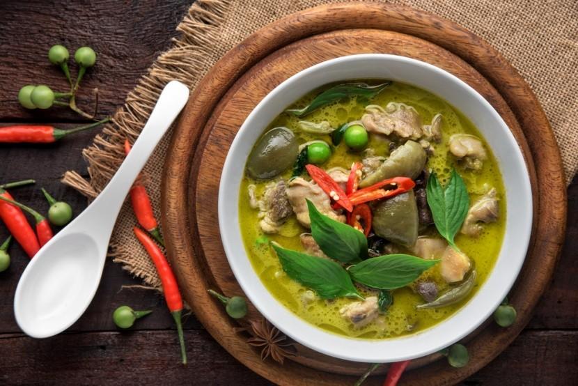 Thai zöld curry