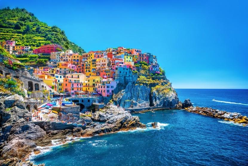 Městečka ve skalách, Cinque Terre