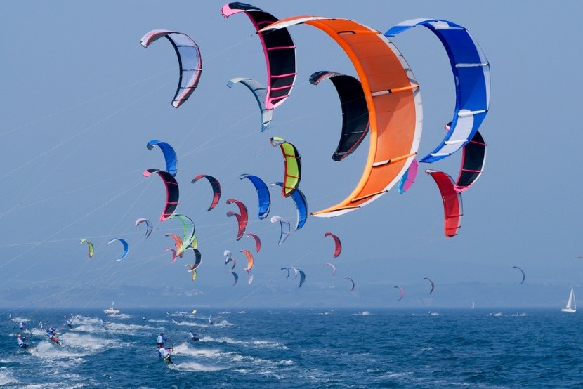 Surf kite je trendy