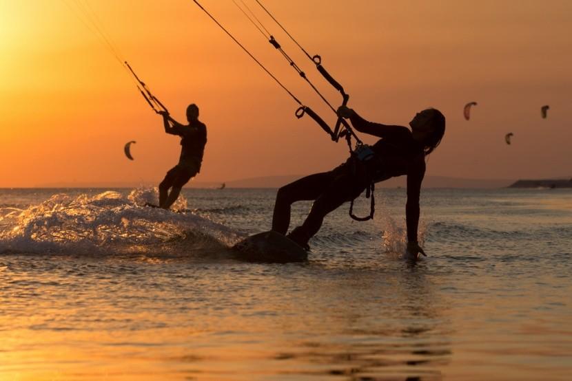 Kiteboarding a naplementében