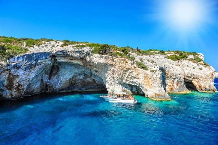 Kék-barlang, Zakynthos
