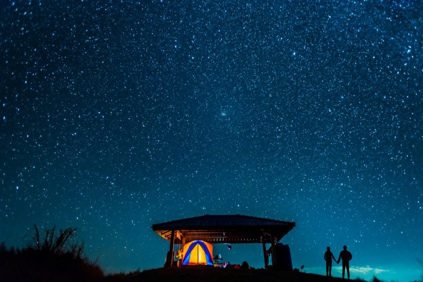 Az éjszakai égbolt megfigyelése