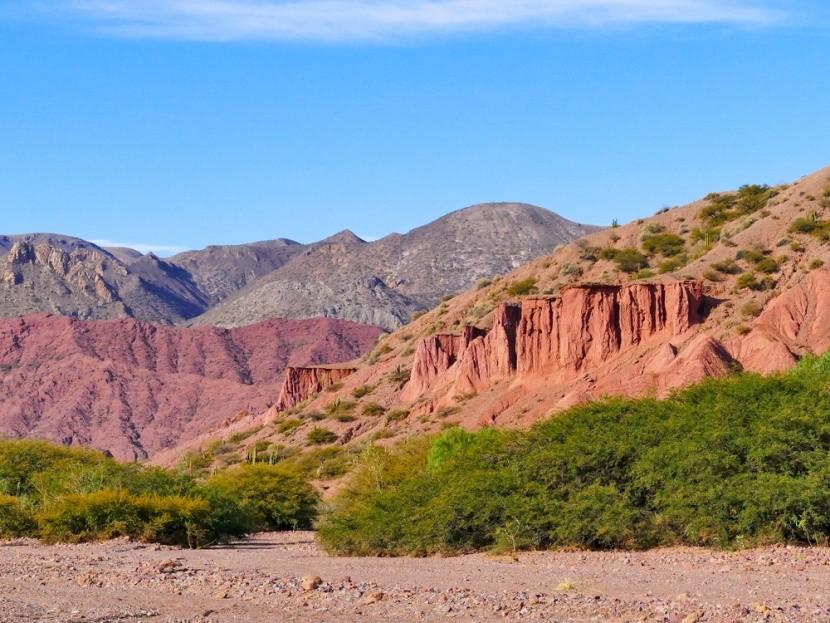 Červené skaly v Tupiza