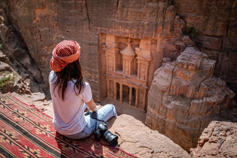 Petra, a sziklaváros Jordániában