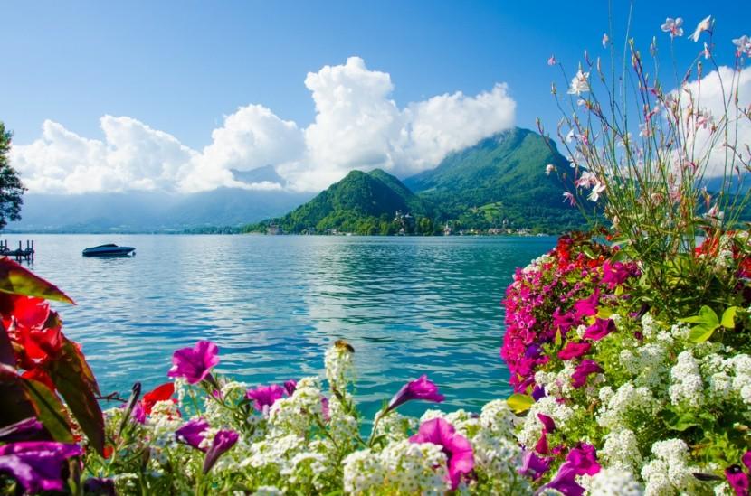 Annecy-tó (Lac D´Annecy), Franciaország
