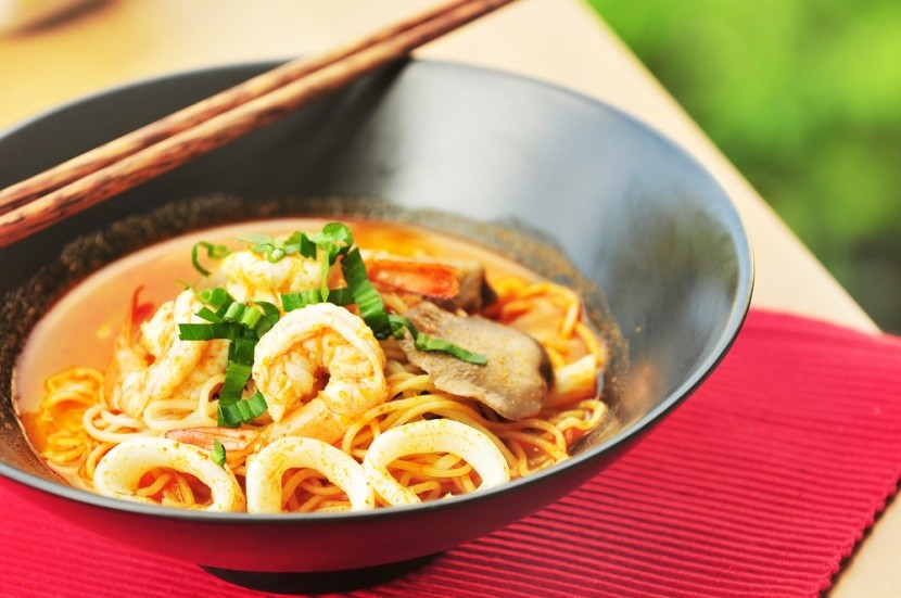 Thajska polievka tom yum koong