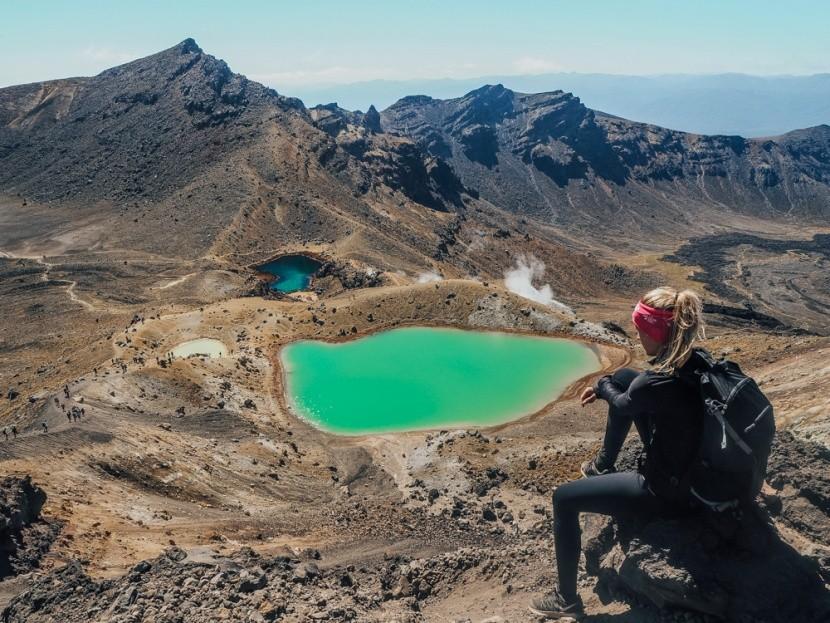 Sopečná jezera, Nový Zéland