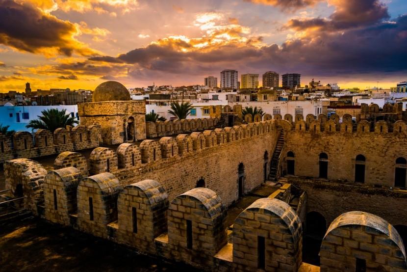 Tunézia, Sousse naplemente
