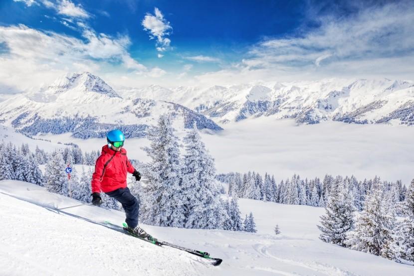 Najlepšie lyžiarske strediská v Rakúsku
