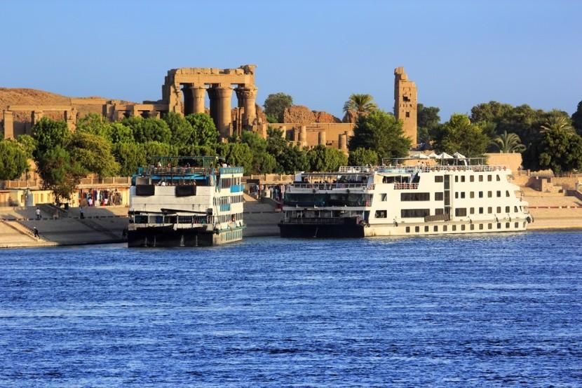 Plavba po Nilu, Egypt