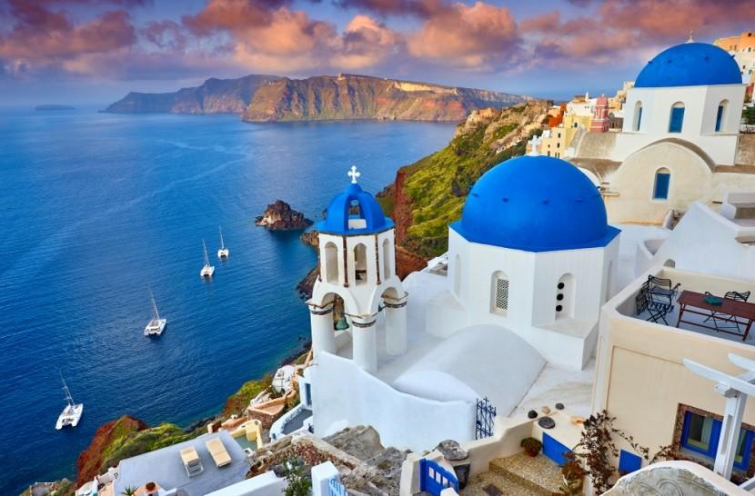 A görög-sziget, Santorini