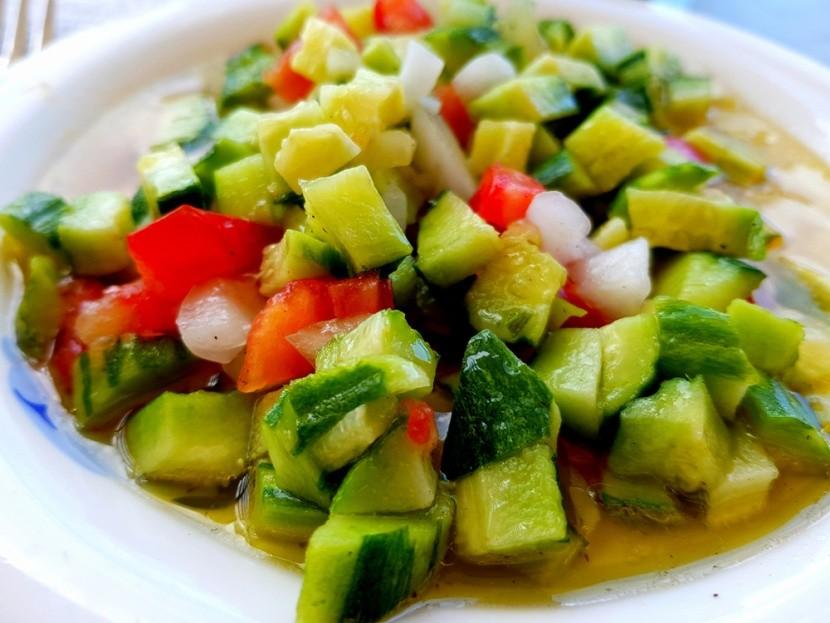 Tradiční tuniský salát