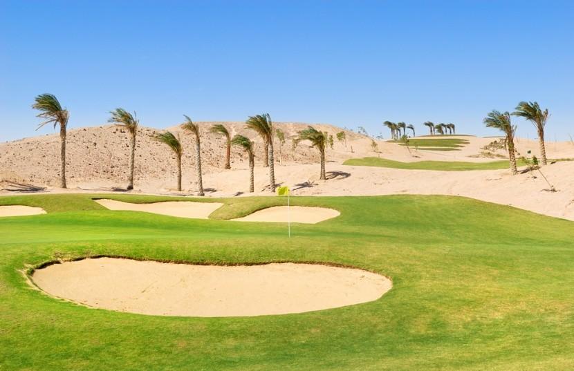 Golfové hřiště v Egyptě