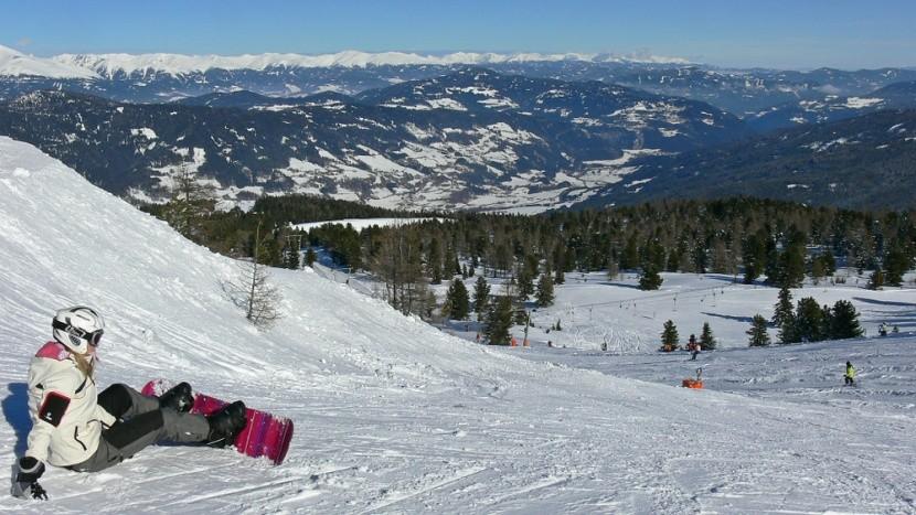 Ausztria, Kreischberg, snowboard