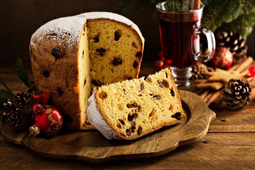 Tradiční italské panettone