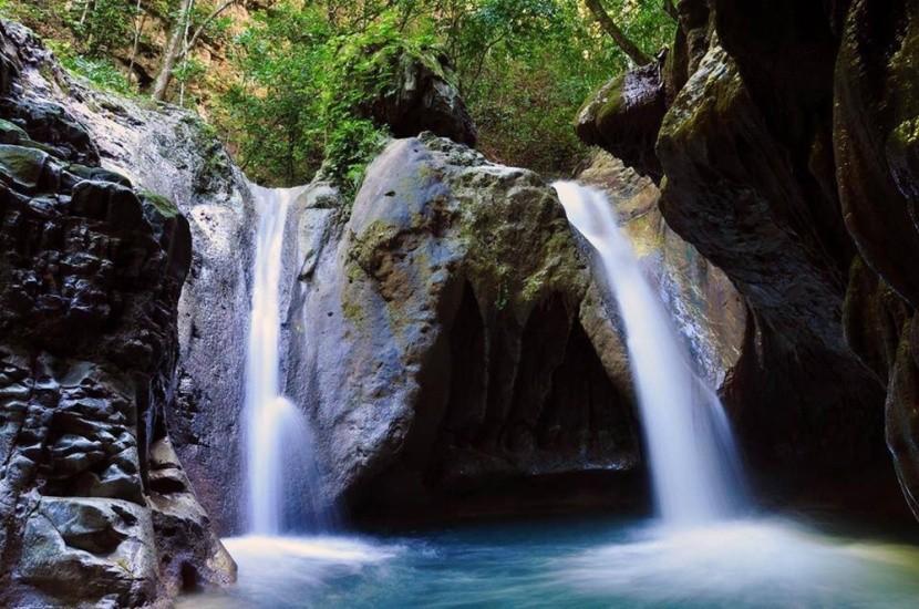 Charcos de Damajagua vízesése