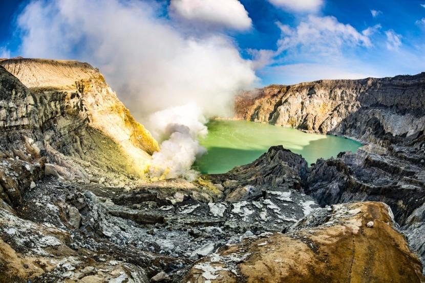 Vulkán Ijen, Jáva, Indonésie