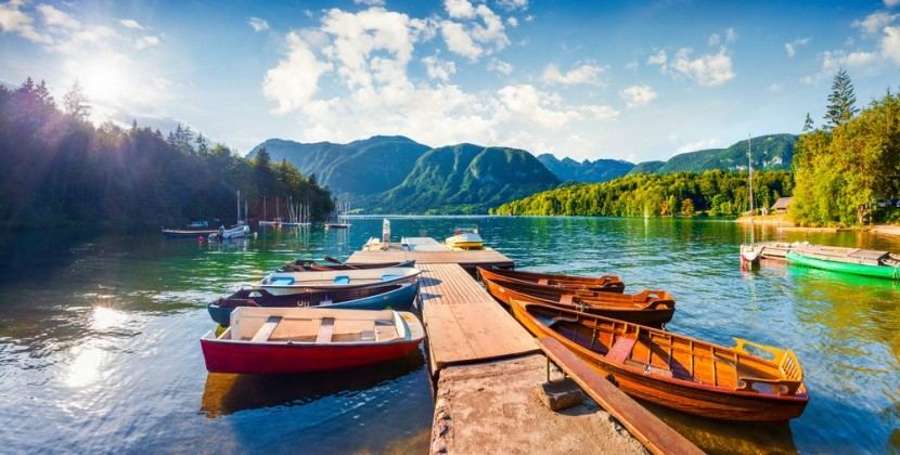 Szlovénia, Triglav Nemzeti Park, Bohinj-tó