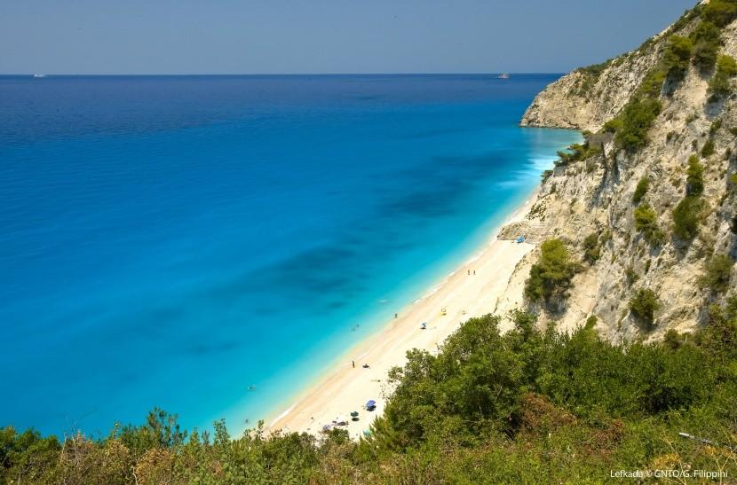 Przepiękne plaże na Lefkadzie