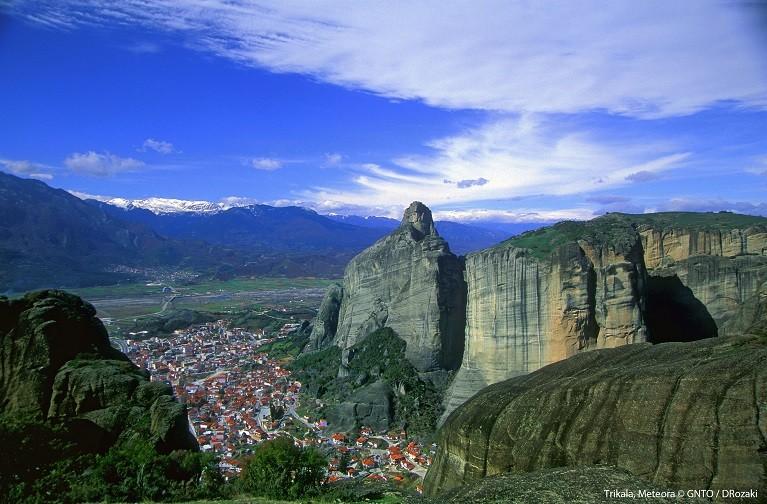 Słynne Meteory – klasztory na skałach