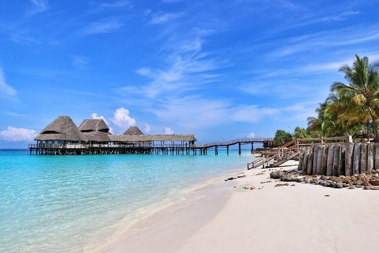 Przepiękne krajobrazy na Zanzibarze, Tanzania