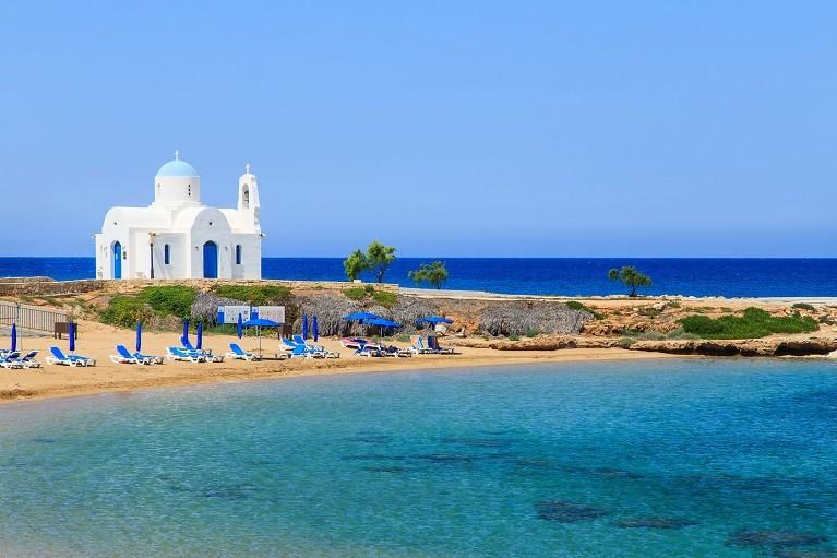 Przepiękne widoki w Protaras, Cypr