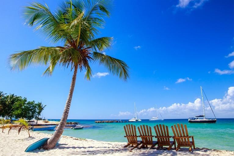 Rajska wyspa Saona, Dominikana