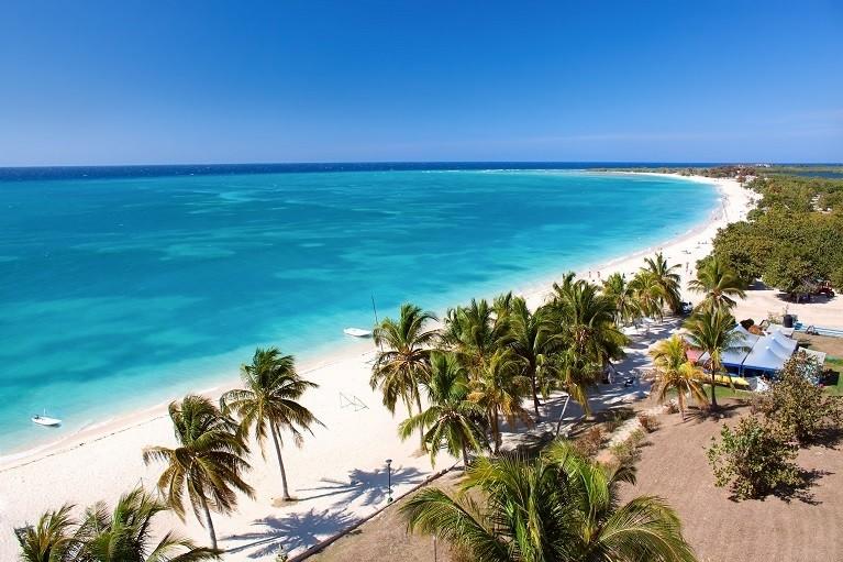 Rajskie plaże na karaibskich wyspach