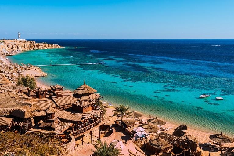 Sharm El Sheikh nad Morzem Czerwonym