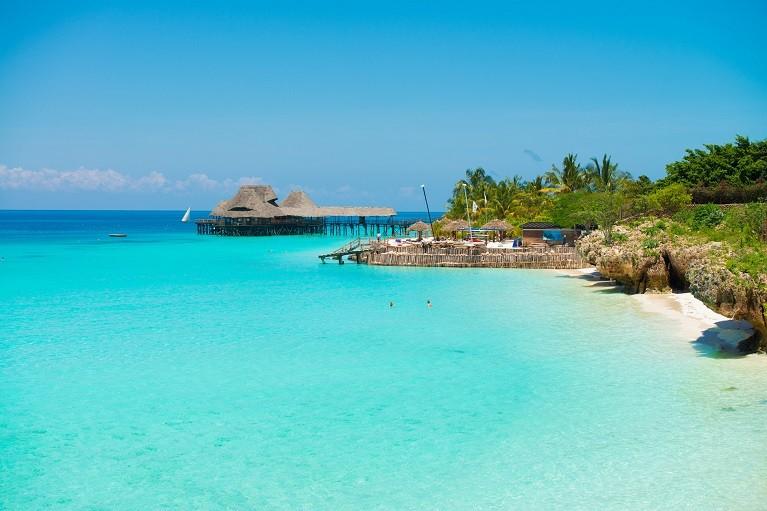 Przepiękne widoki na Zanzibarze