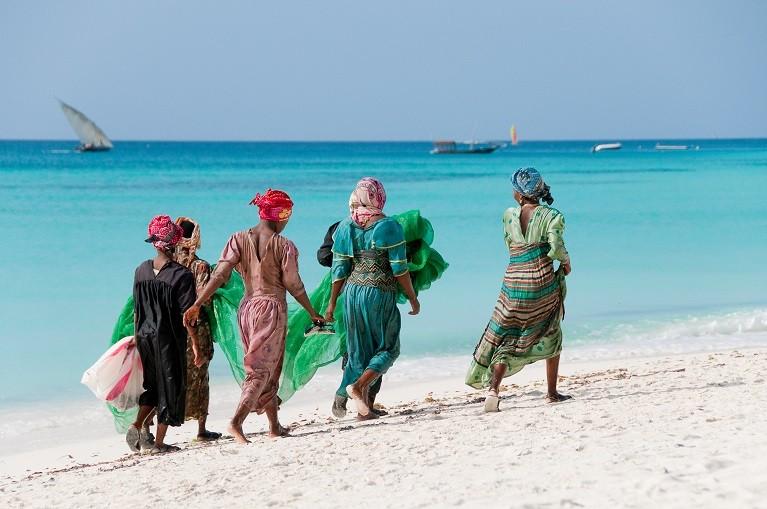 Barwni mieszkańcy Zanzibaru