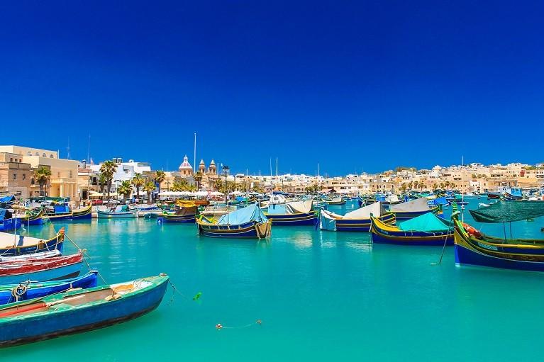 Wioska rybacka Marsaloxx, Malta
