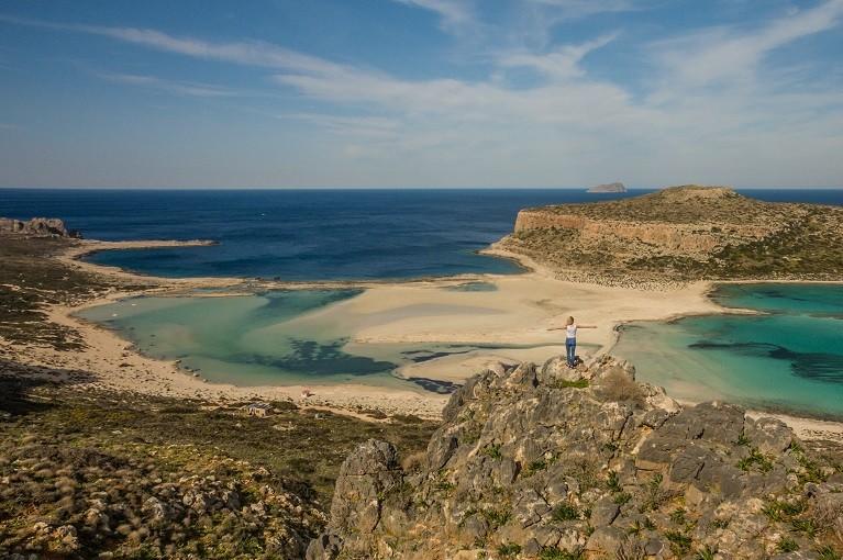 Urokliwa Laguna Balos, Kreta