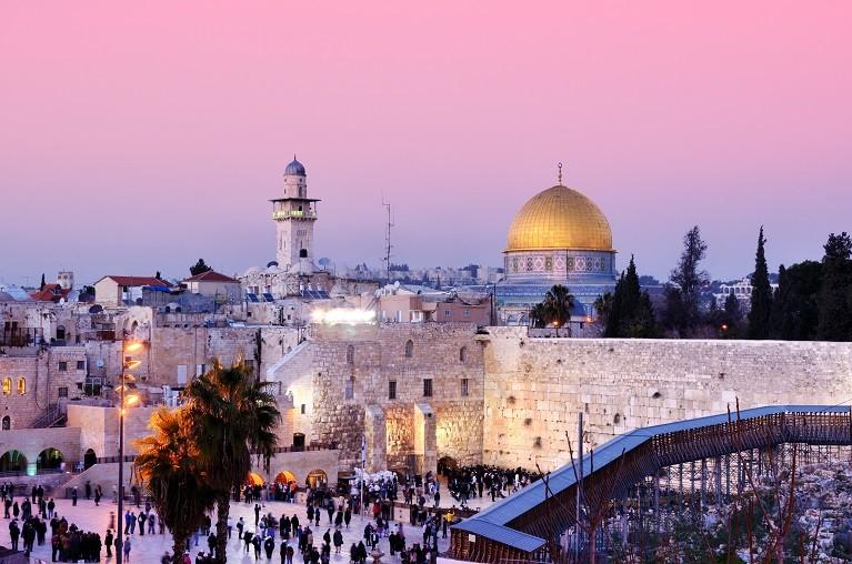 Ściana Płaczu w Jerozolimie, Izrael