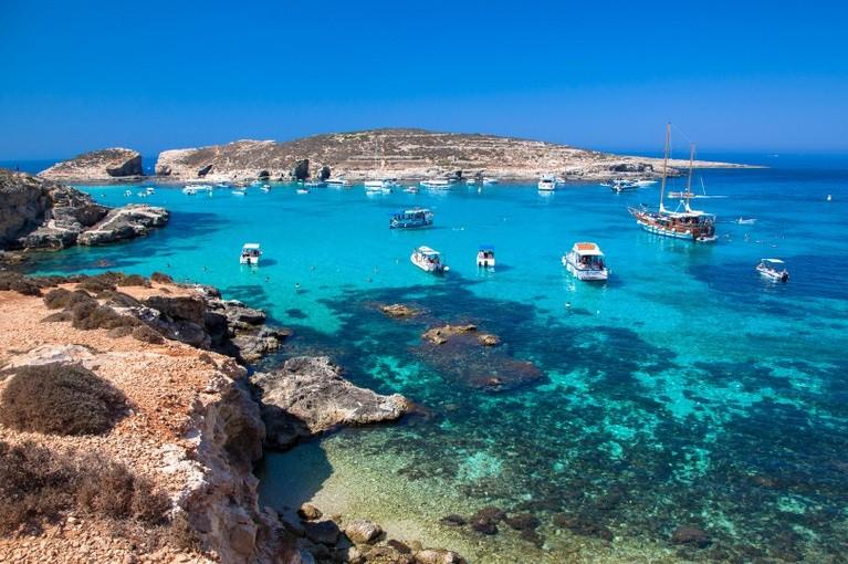Zatoka Blue Lagoon, Malta