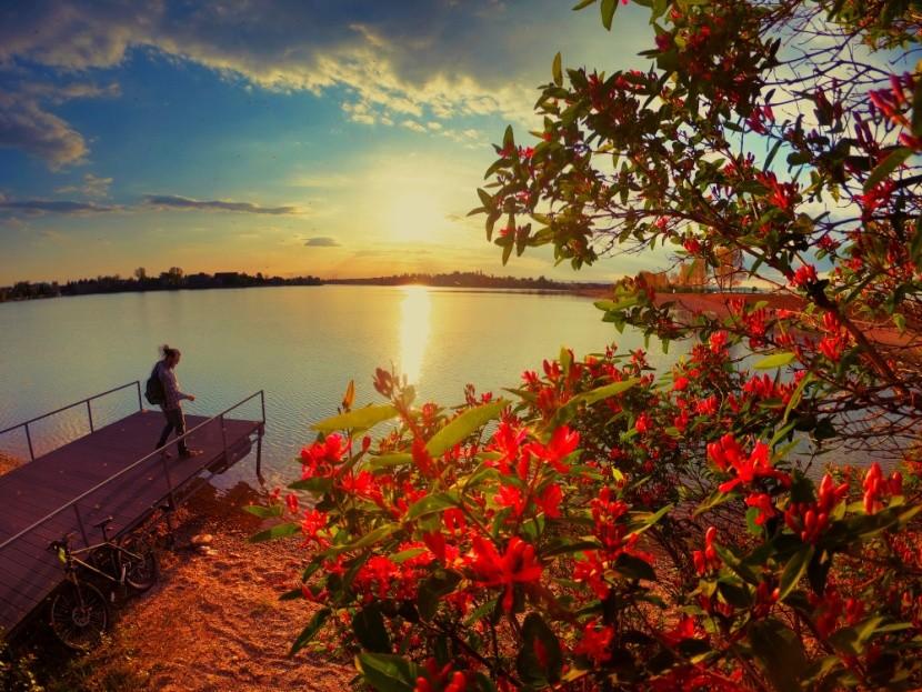 Jezero, Senec