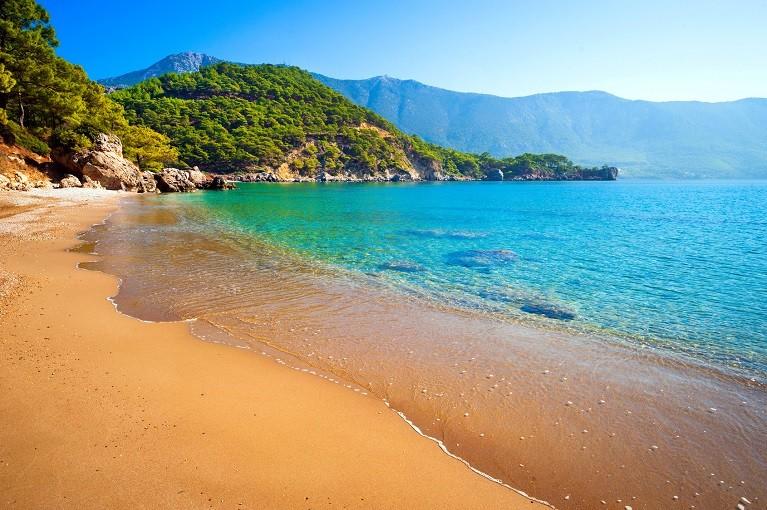 Plaża w Antalyi, Turcja