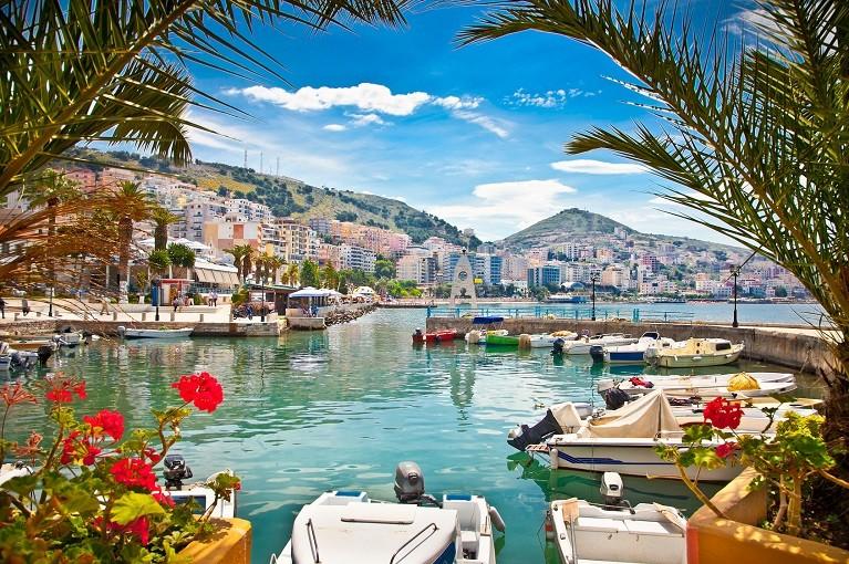 Port miejski w Sarandzie, Albania