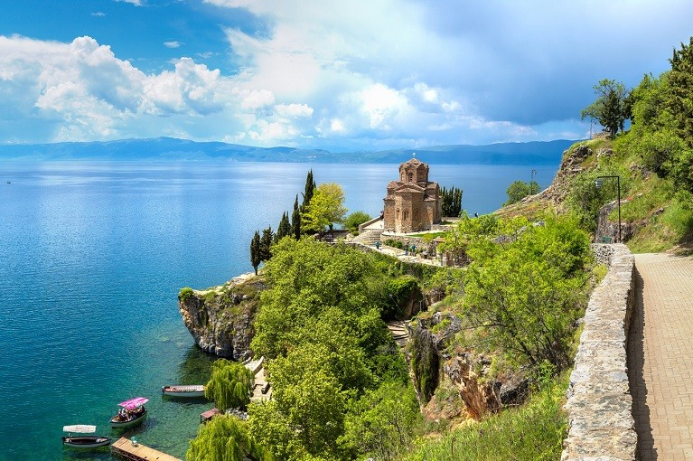 Jezioro Ochrydzkie i zabytki Macedonii