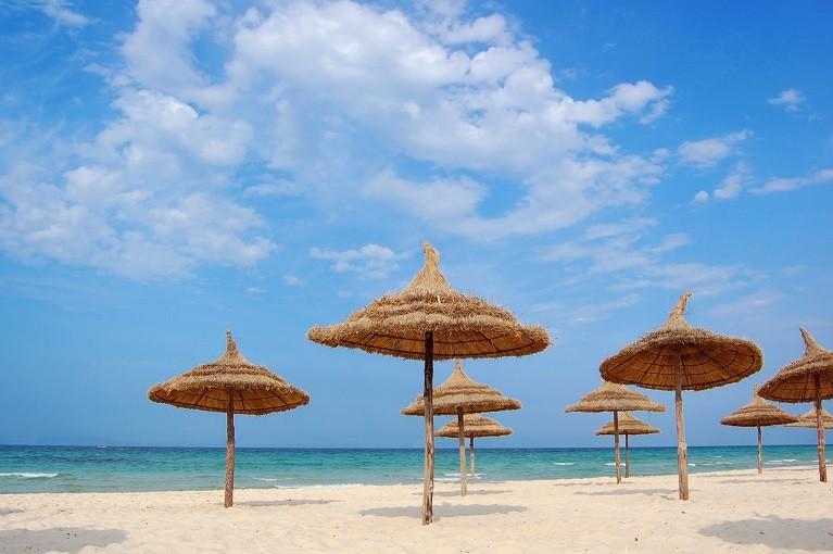 Egzotyczne wczasy na plaży