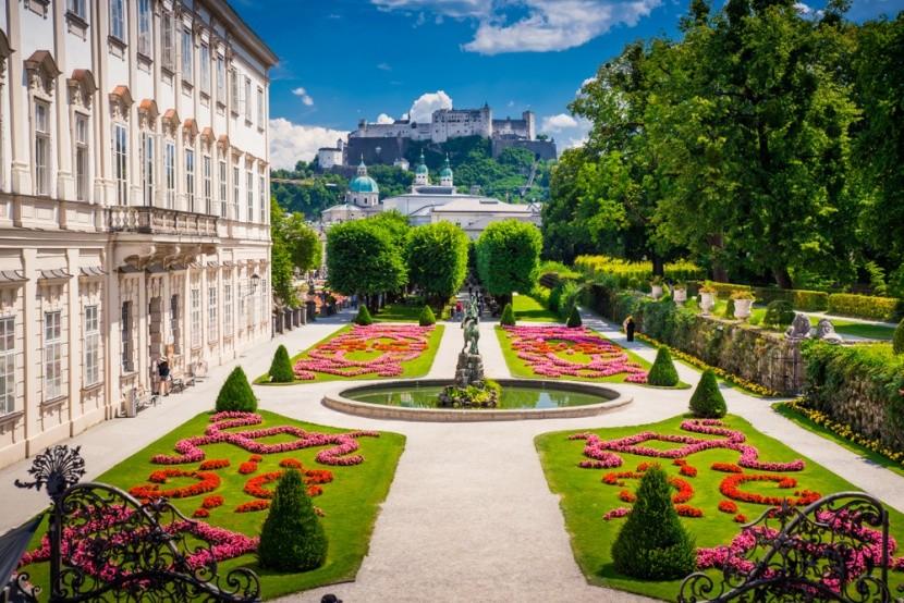 Ausztria, Salzburg, Mirabell-kastély