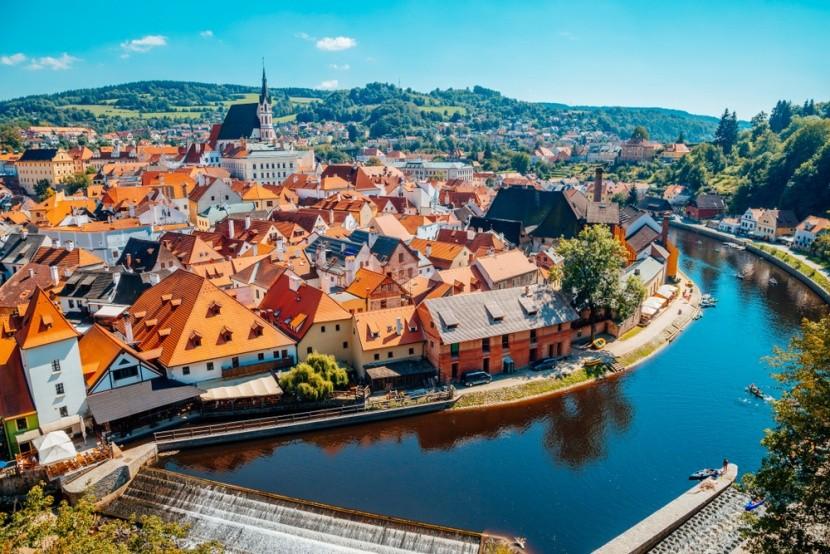Csehország, Český Krumlov óvárosa