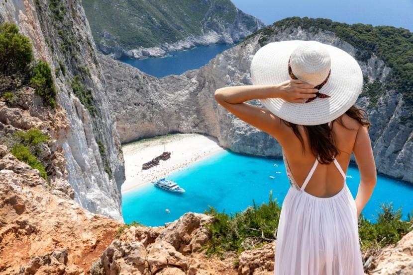 Görögország, Zakynthos, Navagio öböl