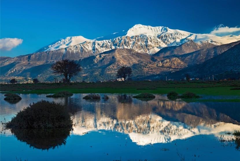 Nádherné horské masivy na Krétě