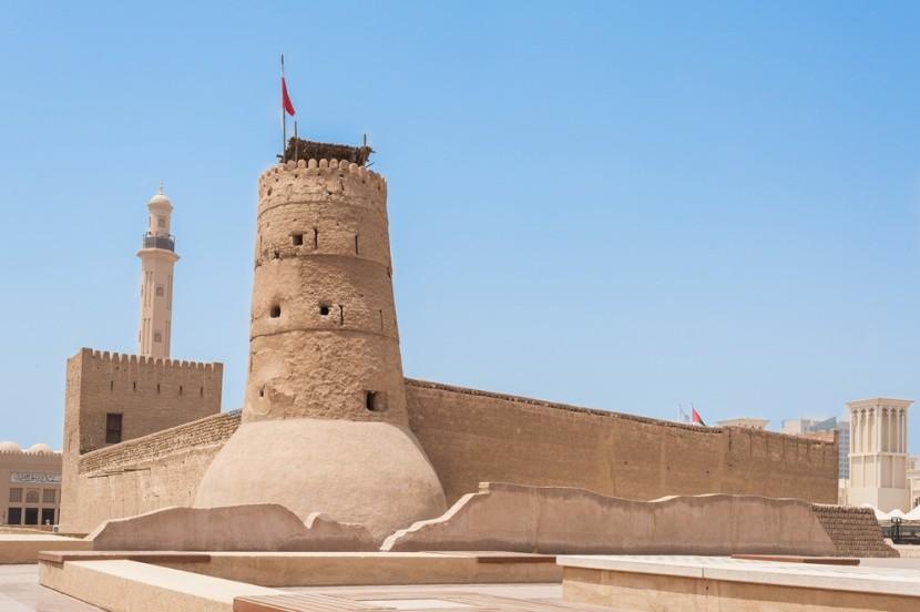 Al Fahidi erőd a Dubai Múzeummal